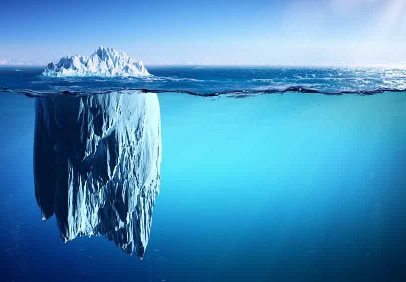 glaciers melt